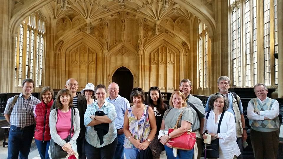 Walking tour of oxford